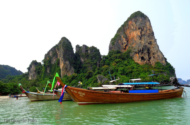 Railay Beach East and West