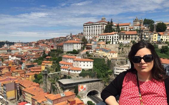 Paloma en Oporto