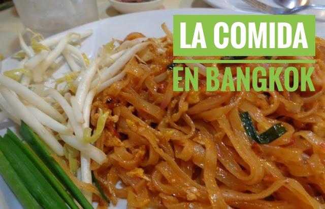 Comer en Bangkok