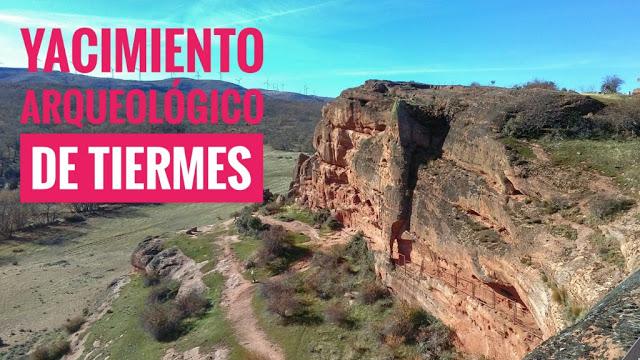 El Yacimiento arqueológico de Tiermes en Soria