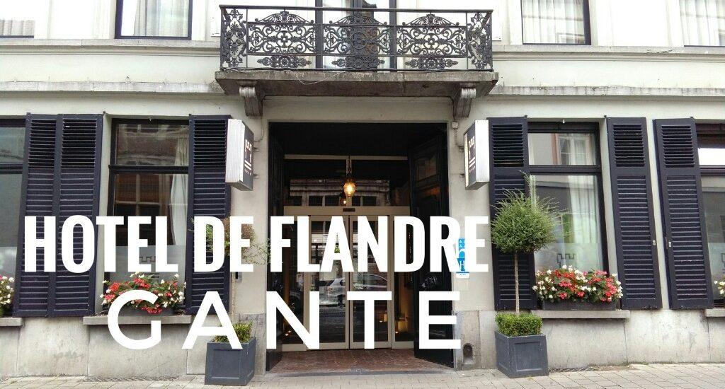 hotel de Flandre en Gante