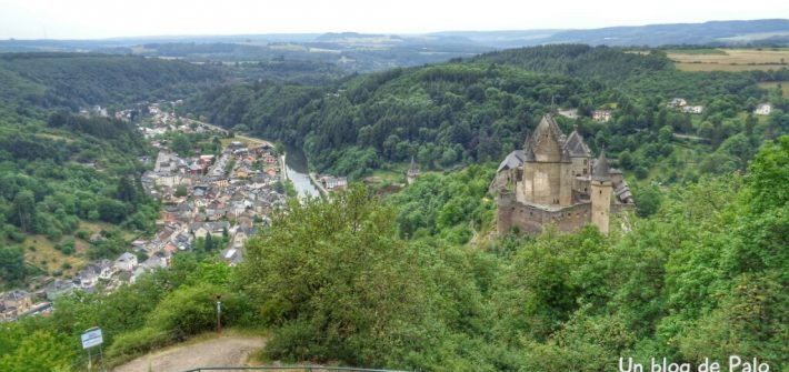 Castillo de Vianden en Luxemburgo