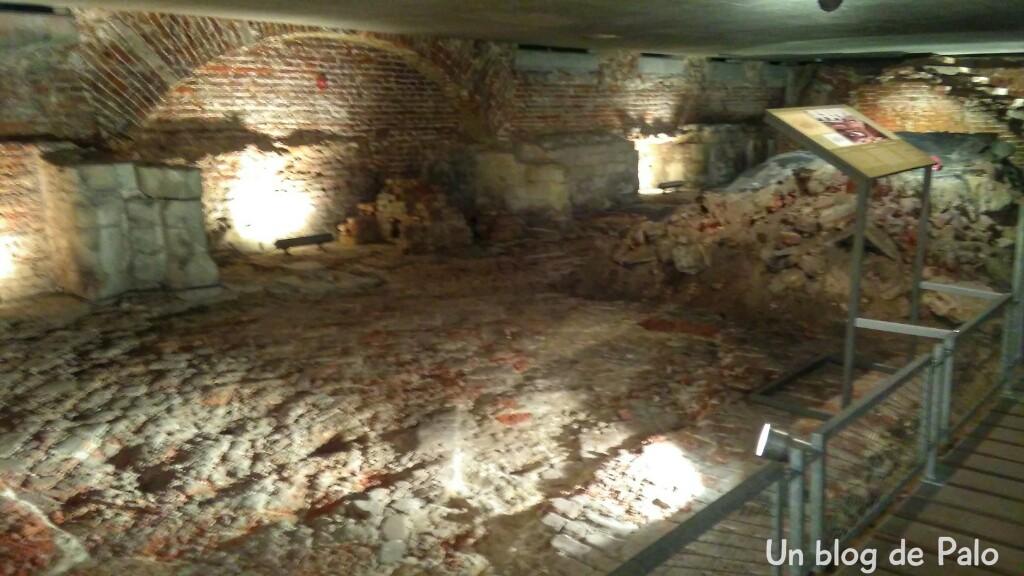 Coudenberg el Antiguo Palacio de Bruselas Aula Magna