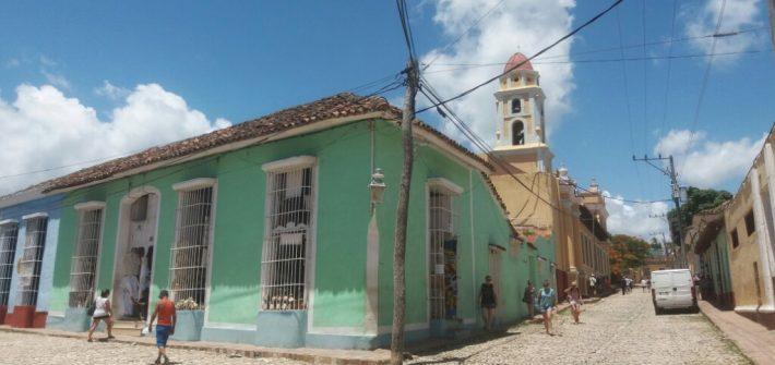 Tres ciudades de cuba