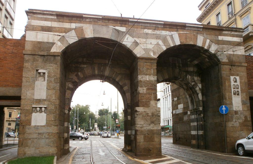 Antigua Porta Nuova en Milán