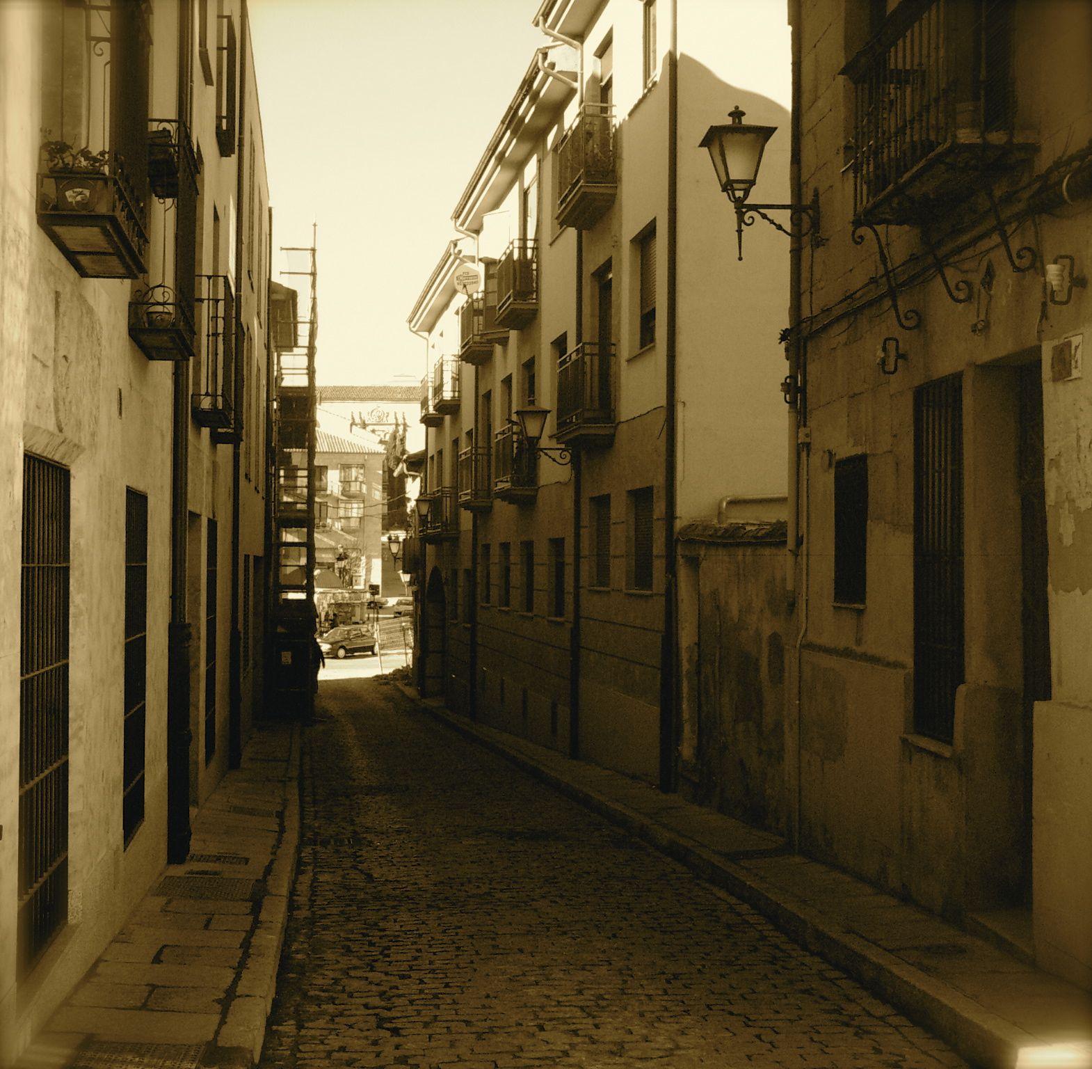 Calle Cervantes, Salamanca
