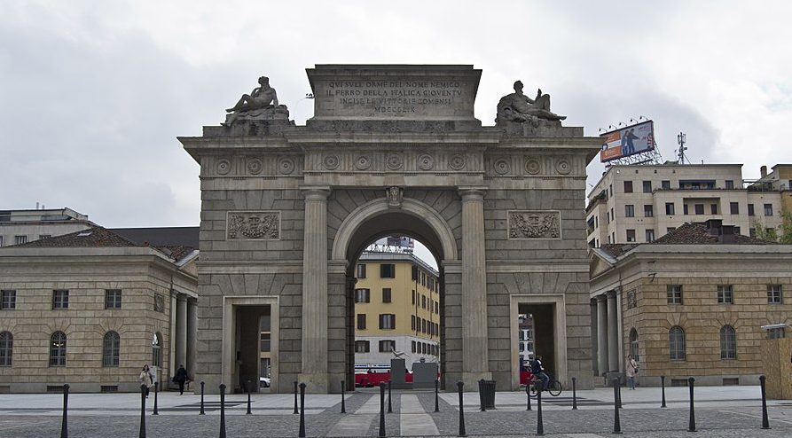 Porta Garibalid Milano