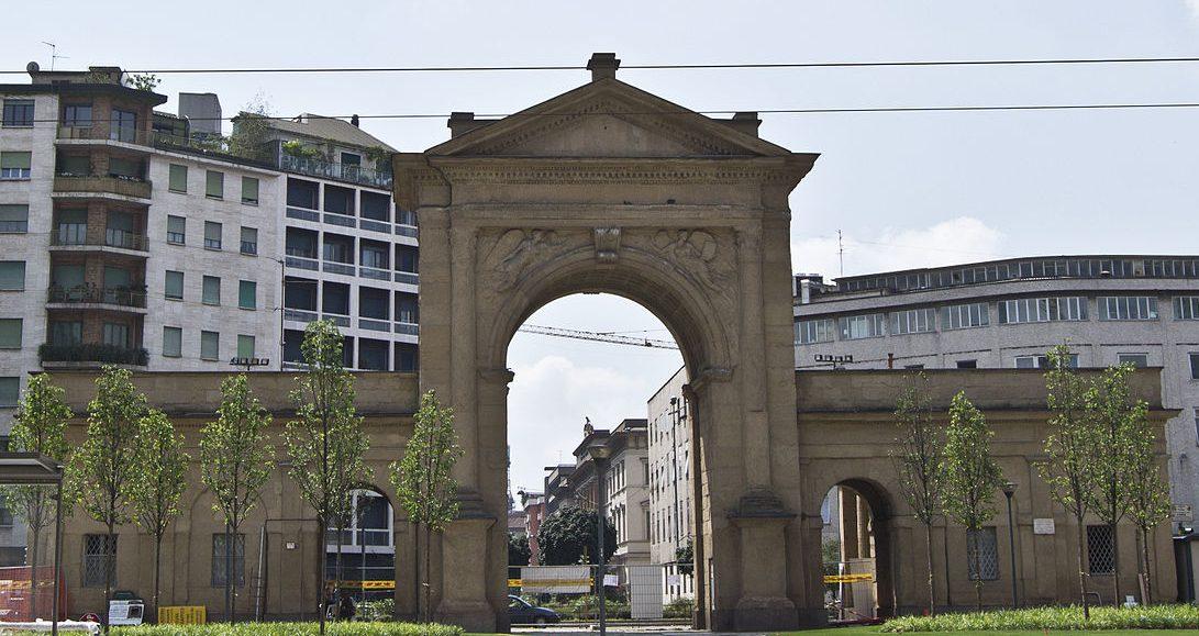 Porta Nuova, Puertas de Milán