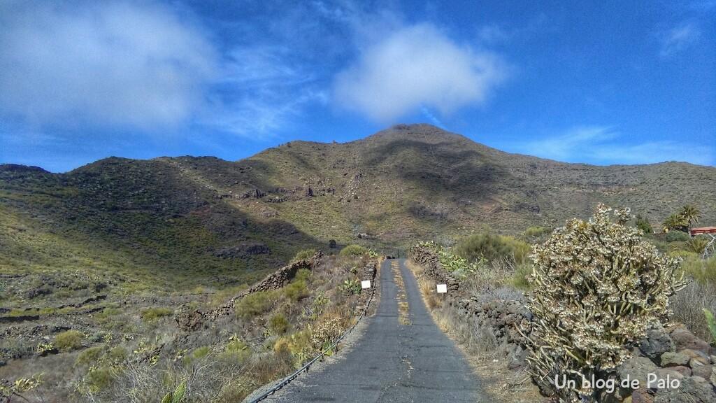 Carreteras en Santiago del Teide
