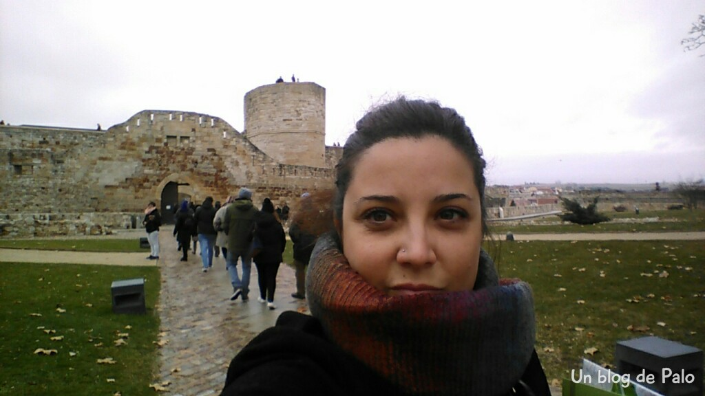 Llegando al Castillo de Zamora