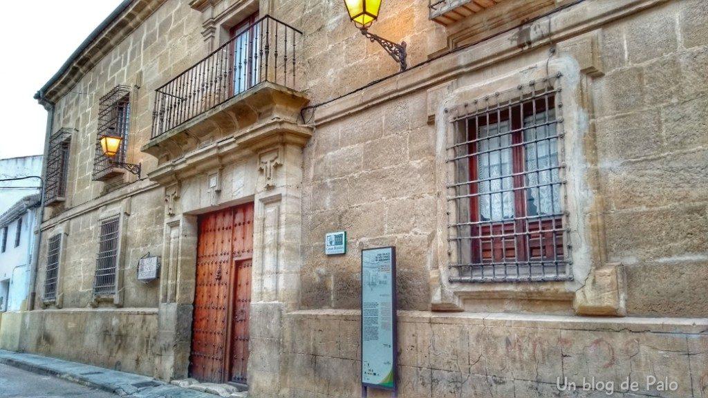 Casa Palacio Conde de Garcinarro, Huete