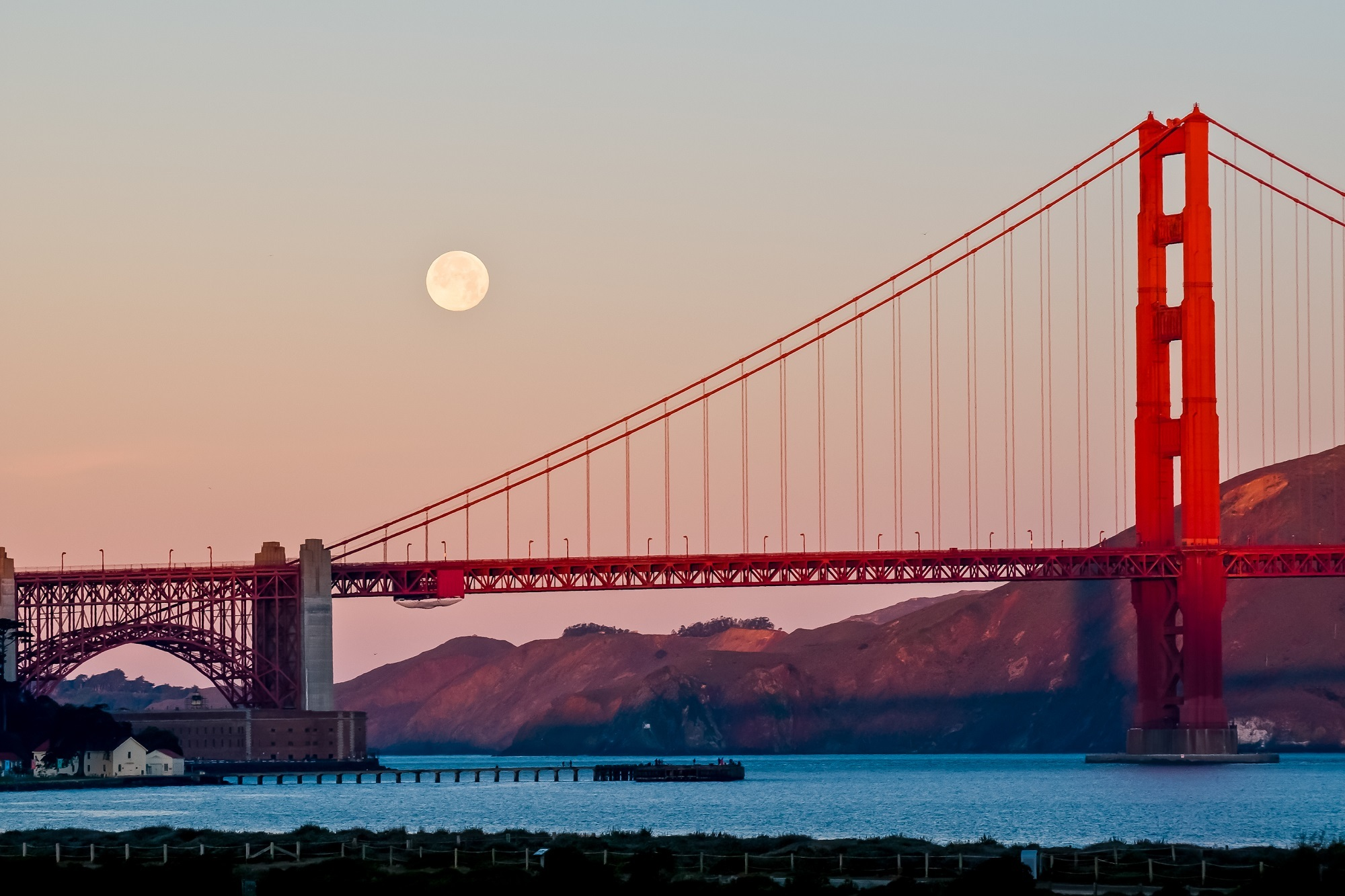 San Francisco y su mítico puente, foto: Pexels