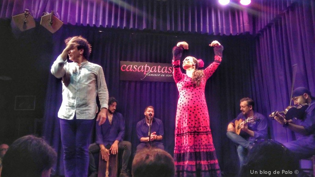 Espectáculo de flamenco en Casa Patas
