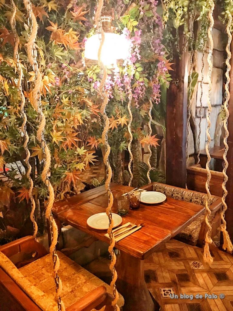 decoración con conlumpios en La Selva