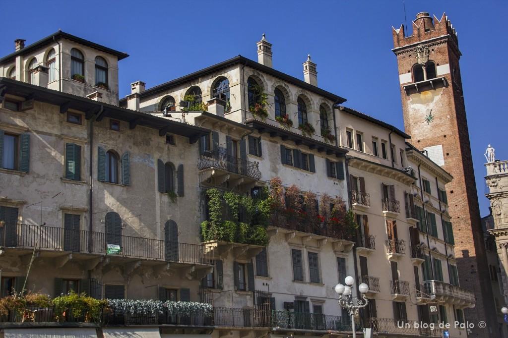 Piazza delle Erbe en Verona