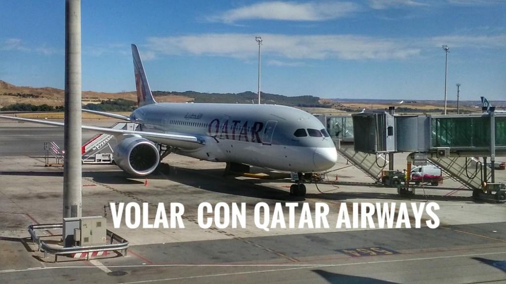 Volar con Qatar Airways